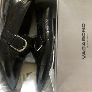 Vagabond Katlin Black Loafers in size 38
